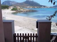 House on the beach in Sardinia from 6 to 12 September