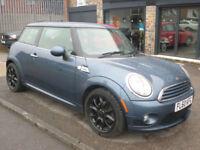2010 Mini Mini 1.6 Cooper 3DR 60 REG Petrol Blue