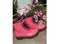 Real pink Dms ( Doctor Martens )