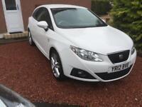 "Seat Ibiza ""Sportrider"" TSI, White, 105bhp, 3 door, (DSG auto transmission)"