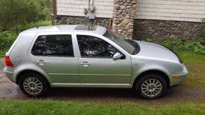 2006 Volkswagen Golf GLS - Open Sunroof, head for the Beach!