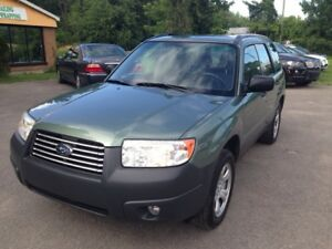 2006 Subaru Forester 2.5L 5SP !!