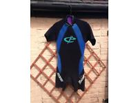 Circle one wet suit