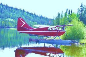Super Stinson floatplane