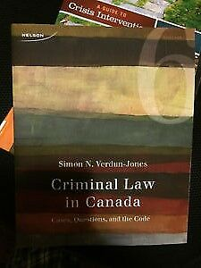 Criminal Law in Canada Cases, Questions the Code 6th Edition