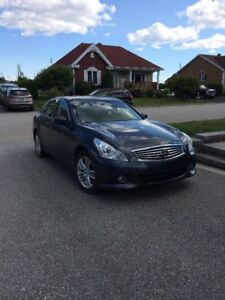 2012 Infiniti G37X Luxury Berline