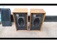 large vintage b&w speakers,possible local delivery