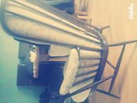 Ercol Tallback Easy Armchairs x 2.