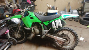 1993 kawasaki kx 125 for sale or trades