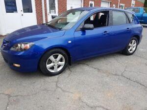 2008 Mazda Mazda3 Hatchback, loaded, New 2yr. MVI