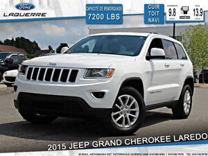2015 Jeep Grand Cherokee LAREDO**4X4*CUIR*TOIT*NAVI*A/C**
