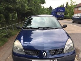 Renault Clio 2005 Automatic , Expression,good condition , MOT , runs very well for quick sale £1150