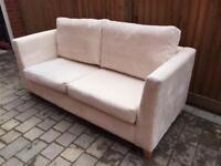 2 Seater Sofa Cream