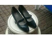 1940's vintage ladies shoes size 6