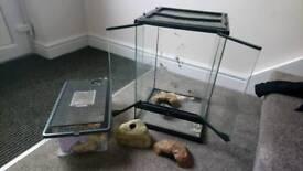 Vivarium reptile cage