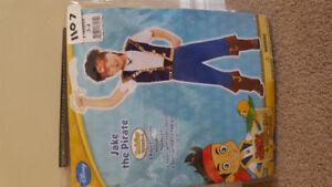 Jake the pirate toddler costume - Toddler size 3-4