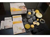 Medela Swing Electric Breast Pump with Calma and Medela Nipple Shields