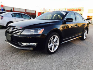 2015 VW PASSAT TDI HIGHLINE DIESEL, TOP OF THE LINE,NAVI,LEATHER