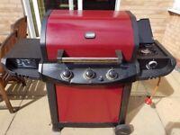 Uniflame 3 burner gas BBQ
