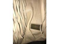 Matthew Williamson leather handbag in a light tan colour - authentic, unique, beautiful