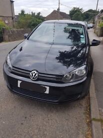 VW Golf 1.4 TSi (petrol) Black, 12 plate