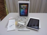 """HTC Flyer tablet P512 16GB 7"""" Wifi + many accessories. Excellent condition"""