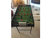 Football games table