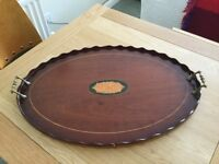 Vintage Edwardian Butlers Serving Tray