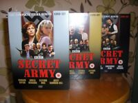 The complete series of the SECRET ARMY.