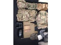 Military gear and camping gear sold as bulk buy now cheap