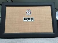 Orange PPC212 Closed Back Black Guitar Amp Cabinet - 120W