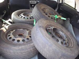 15 inch 4 bolt rims (195/65R15 tires)