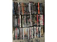 Various action / adventure / mixed DVD's. 87 in total.
