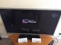 Toshiba 46TL963B 46-inch 1080p LED 3D Smart TV with Freeview boxed used 3 times