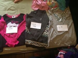 Lot of girl clothing