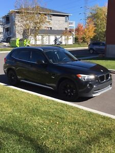 BMW X1, 2012, mags noirs BM