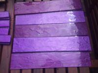 Free tiles.. purple glass effect .