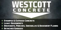 Driveways By Westcott Concrete **FREE ESTIMATES**