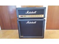 Marshall DSL50 head and 2x12 cab
