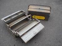 Vintage Tool Boxes x2