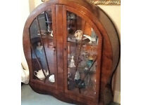 ART DECO CIRCULAR CHINA CABINET. SIMILAR ONE ON EBAY FOR £685
