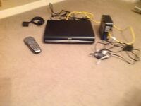 Sky + HD box and cables
