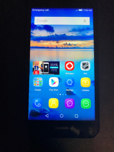Used Huawei Y3 Amazing Condition Locked To ROGERS/ FIDO No Box