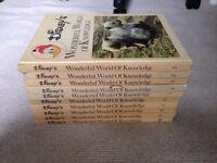 Disney's Wonderful World of Knowledge Books 1-10
