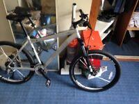 Men's Silver specialized rockhopper bike