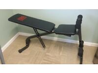 Weight bench, Fitness bench in very good condition