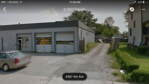 Mechanic or detailing shop for rent