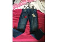 Bnwt girls jeans age 5-6 years