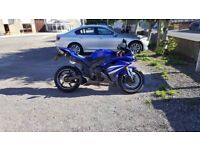 Yamaha R1 (4c8) 2007 with lots of extra's ( looking for R6, ZX6R, CBR600RR, GSXR)