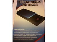 Charge cradle for 3ds